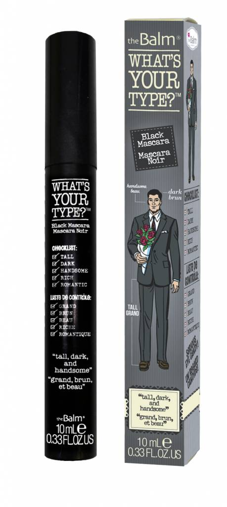 """The Balm Whats Your Type Mascara """"Tall, Dark & Handsome"""""""