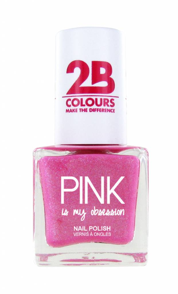 2B Cosmetics Vernis à ongles 702 Pink Obsession
