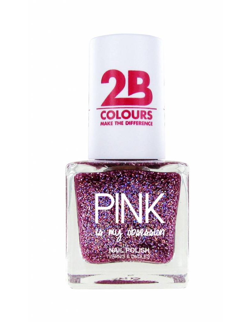 2B Cosmetics Vernis à ongles 704 Pink Obsession