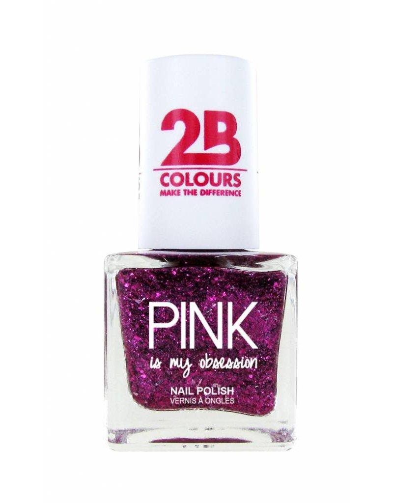 2B Cosmetics Vernis à ongles 705 Pink Obsession