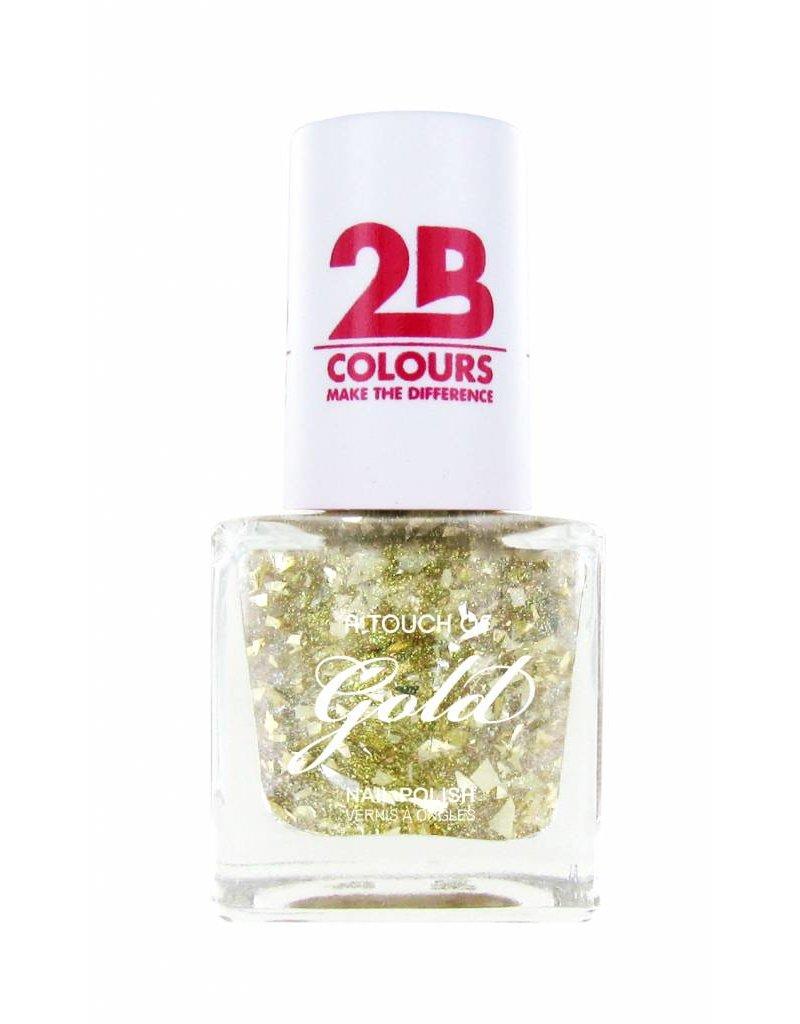 2B Cosmetics Nagellak 706 A Touch Of Gold