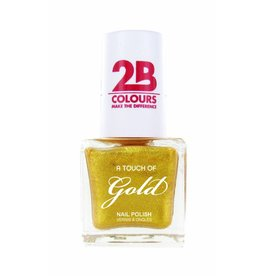 2B Cosmetics Nagellak 707 A Touch Of Gold