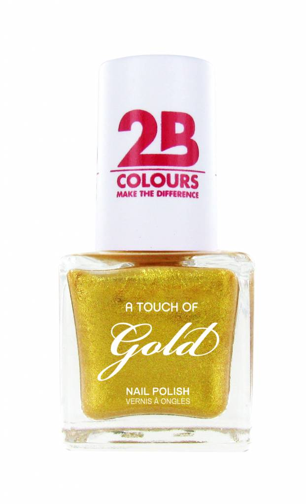 2B Cosmetics Vernis à ongles 707 A Touch Of Gold