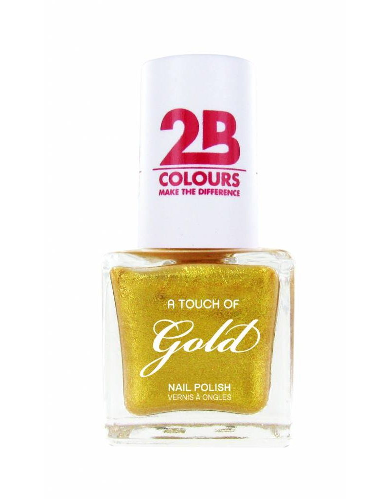 2B Cosmetics Nail polish 707 A Touch Of Gold