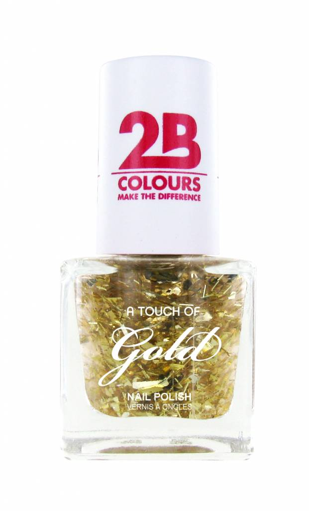 2B Cosmetics Nagellak 708 A Touch Of Gold