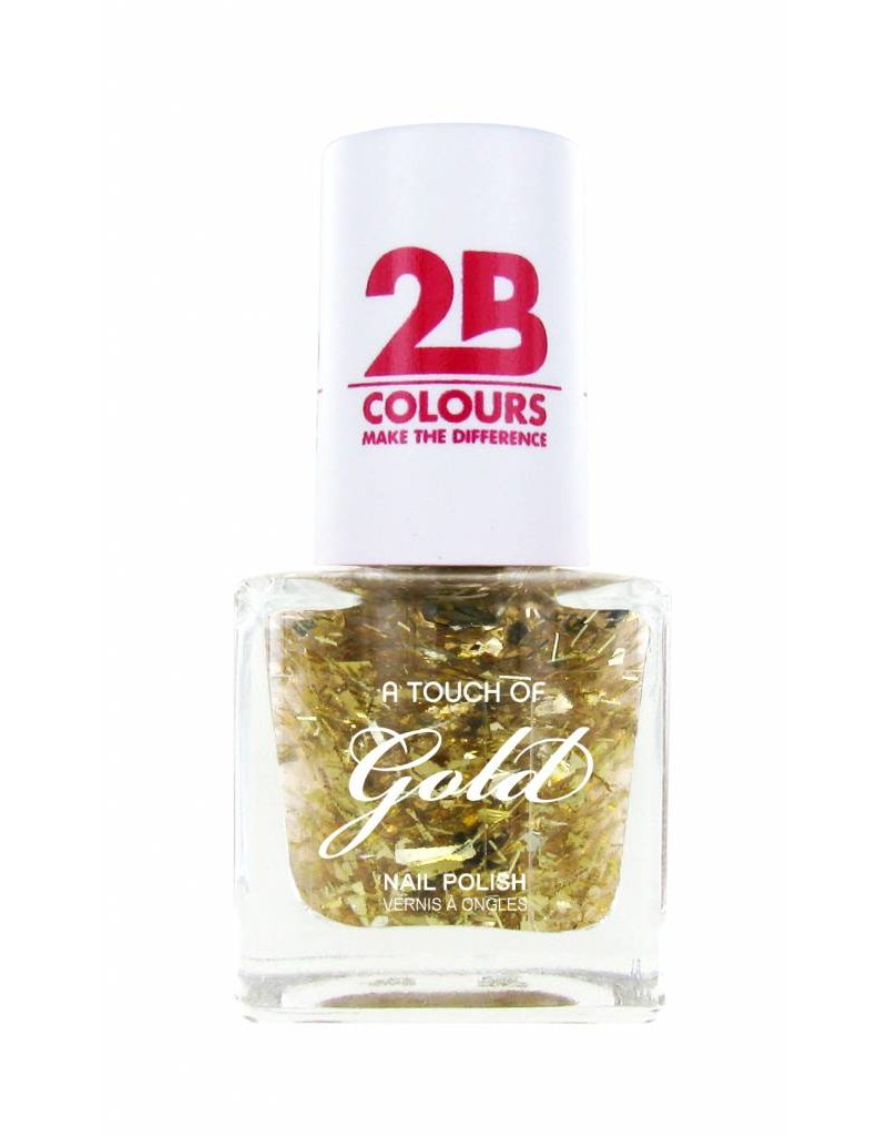 2B Cosmetics Nagellak 708 A Touch Of Gold
