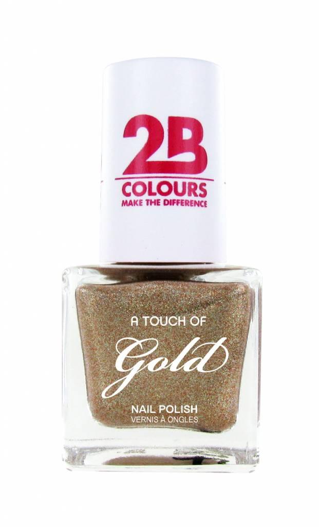 2B Cosmetics Nagellak 709 A Touch Of Gold