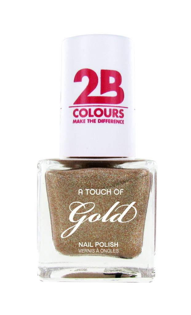 2B Cosmetics Vernis à ongles 709 A Touch Of Gold