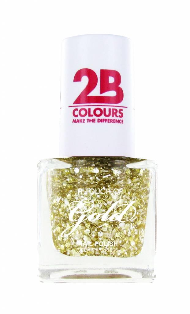 2B Cosmetics Nagellak 710 A Touch Of Gold