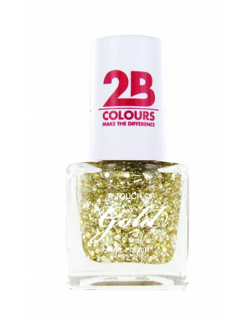 2B Cosmetics Vernis à ongles 710 A Touch Of Gold