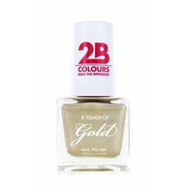 2B Cosmetics Nagellak 711 A Touch Of Gold