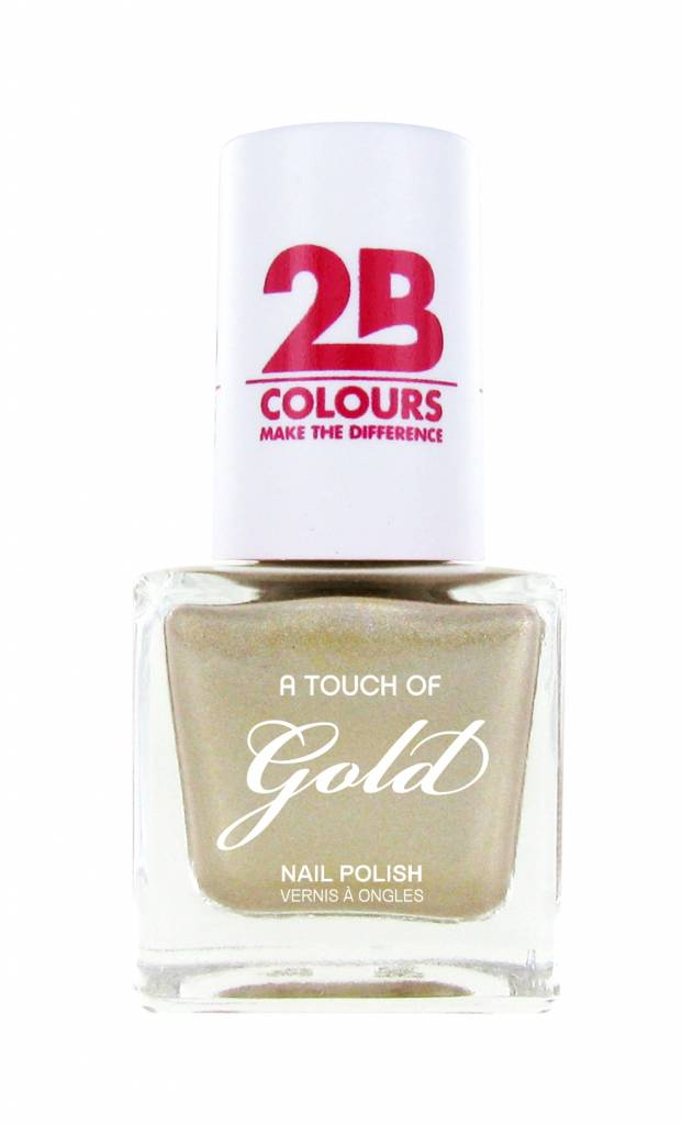 2B Cosmetics Nail polish 711 A Touch Of Gold