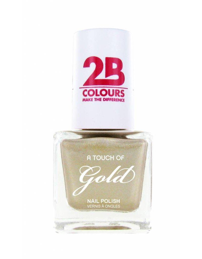 2B Cosmetics Nagellak 711 A Touch Of Gold