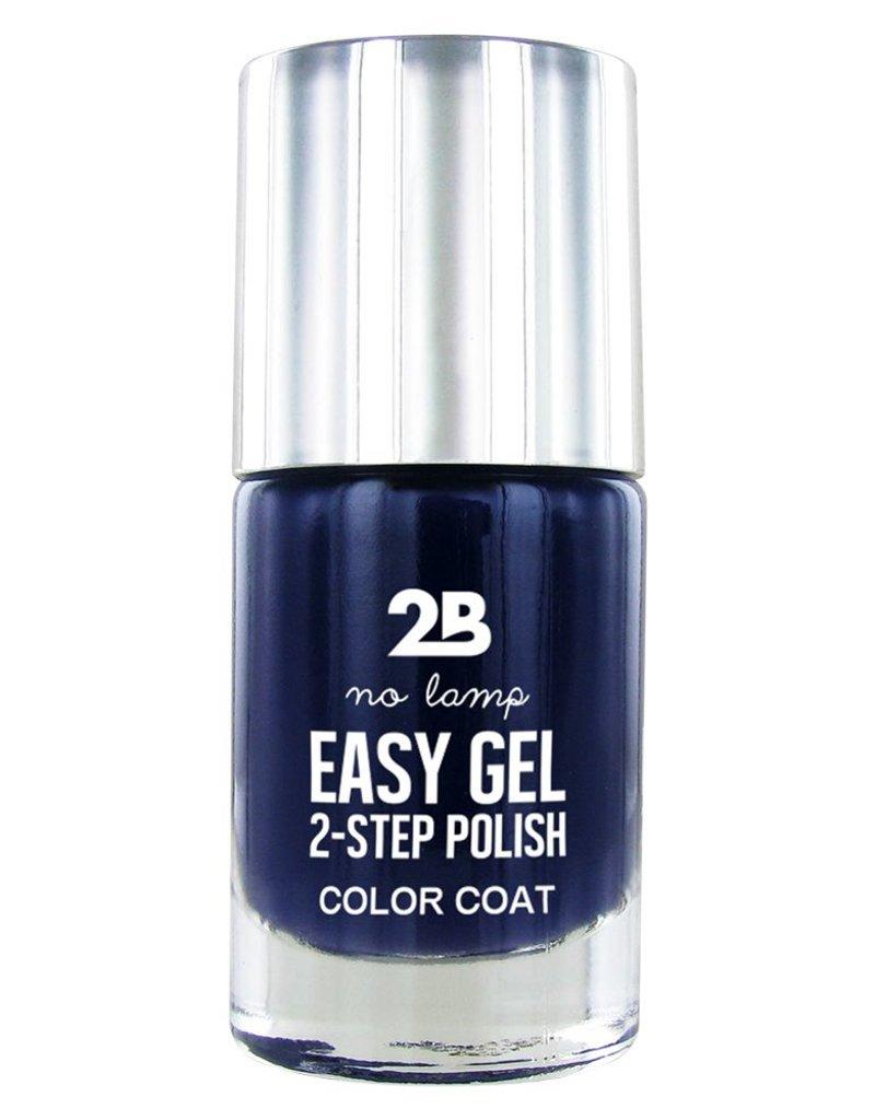 2B Cosmetics Easy gel 2 step polish - Denim blue