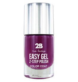 2B Cosmetics Easy gel 2 step polish - Plum gorgeous