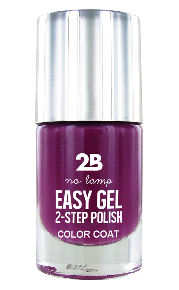 2B Cosmetics Easy gel 2 step polish - Plum gorgeous - MakeUpTouch