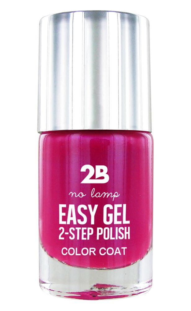 2B Cosmetics Easy gel 2 step polish - Fuchsia bouquet