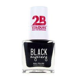 2B Cosmetics Nagellak 717 Black Mystery