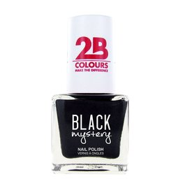 2B Cosmetics Nail polish 717 Black Mystery