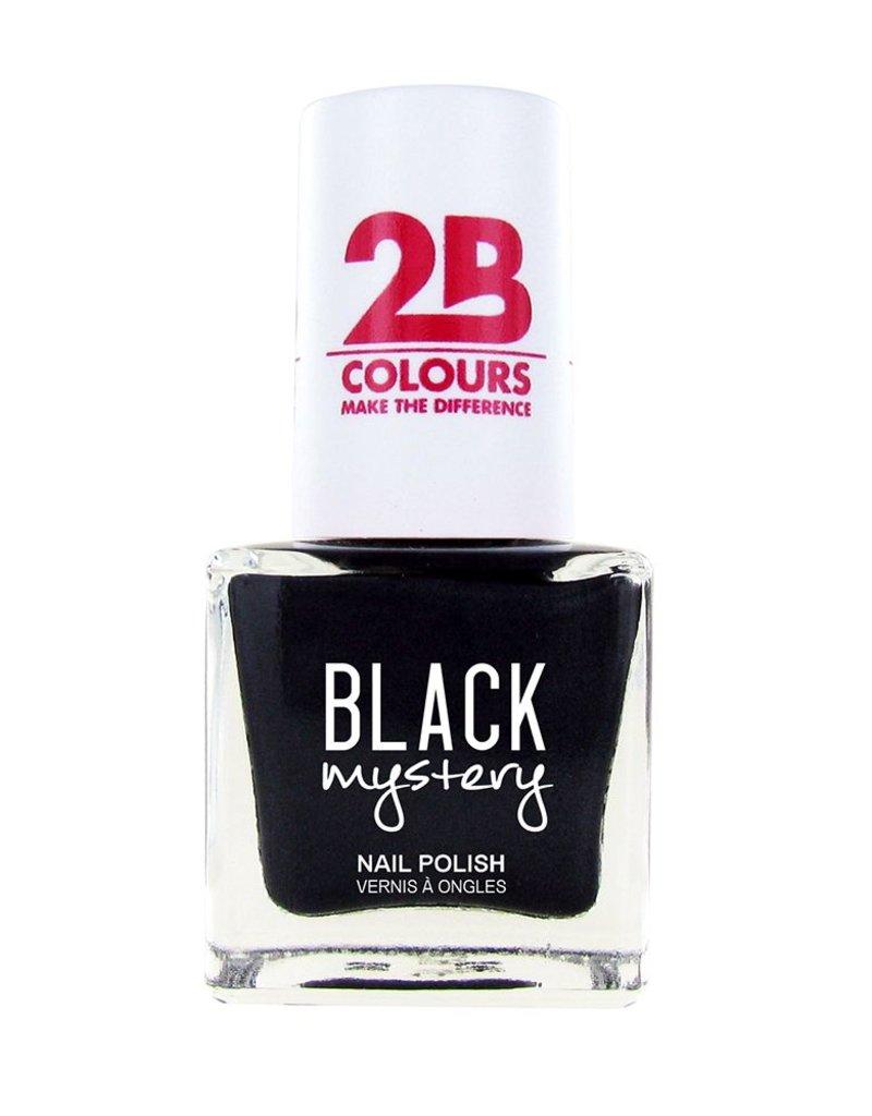2B Cosmetics Nail polish 717 Black Mystery