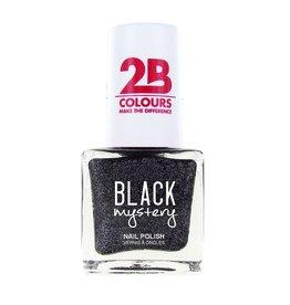 2B Cosmetics Nagellak 716 Black Mystery