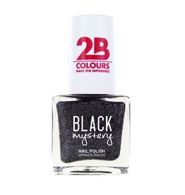 2B Cosmetics Nail polish 716 Black Mystery