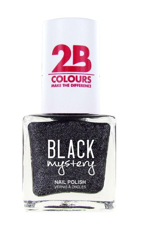 2B Cosmetics Nail polish 716 Black Mystery