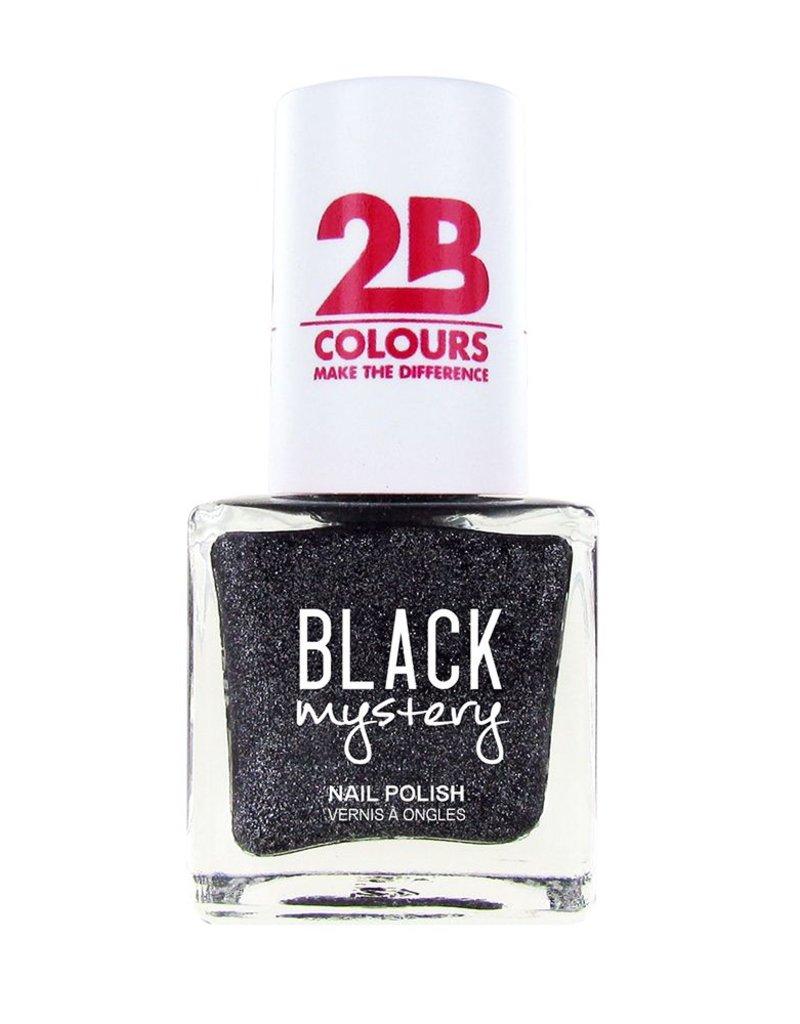 2B Cosmetics Vernis à ongles 716 Black Mystery