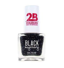 2B Cosmetics Nagellak 715 Black Mystery