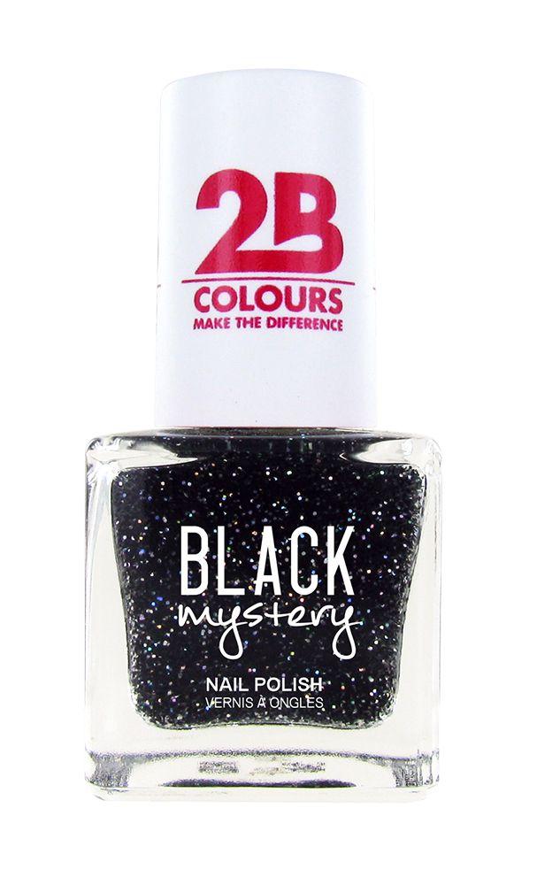 2B Cosmetics Vernis à ongles 715 Black Mystery