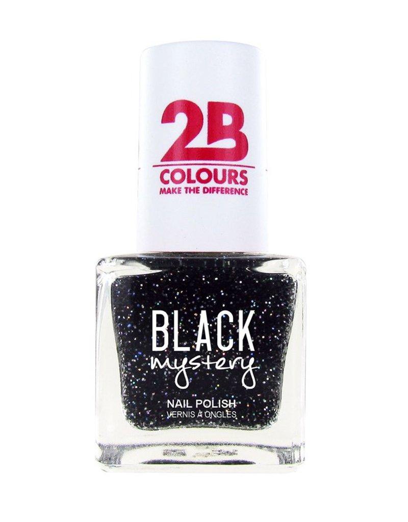 2B Cosmetics Nail polish 715 Black Mystery