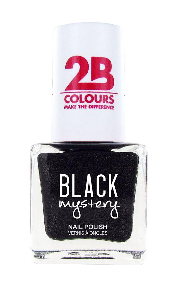 2B Cosmetics Nagellak 713 Black Mystery