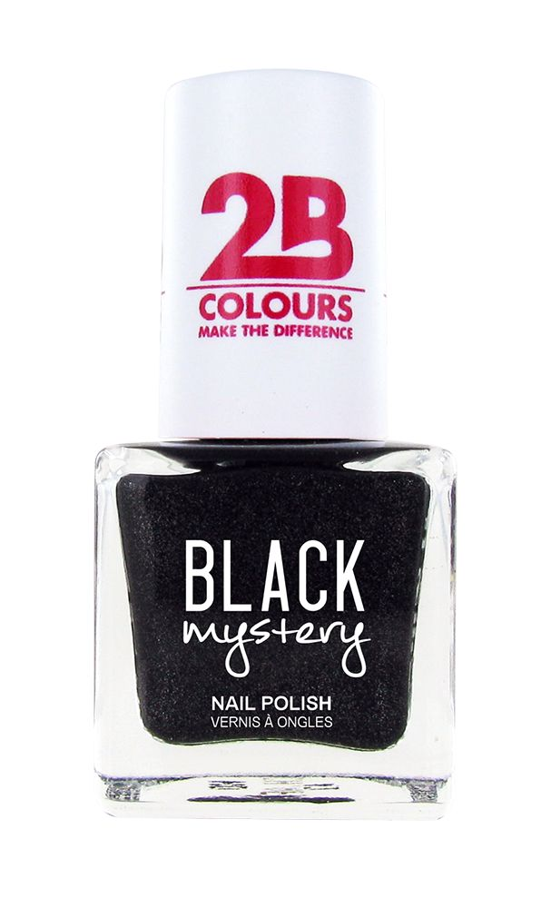 2B Cosmetics Nail polish 713 Black Mystery