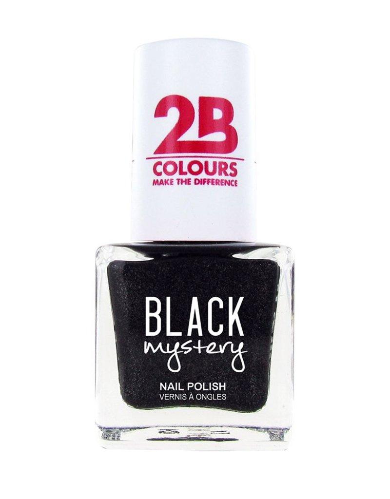 2B Cosmetics Vernis à ongles 713 Black Mystery