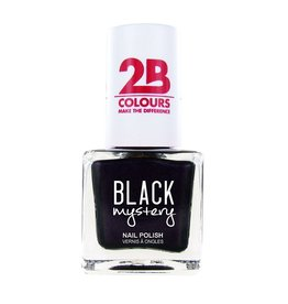 2B Cosmetics Nail polish 712 Black Mystery