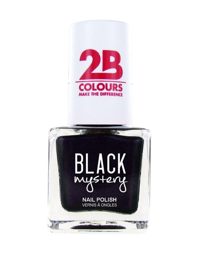 2B Cosmetics Nail polish 712 Black Mystery