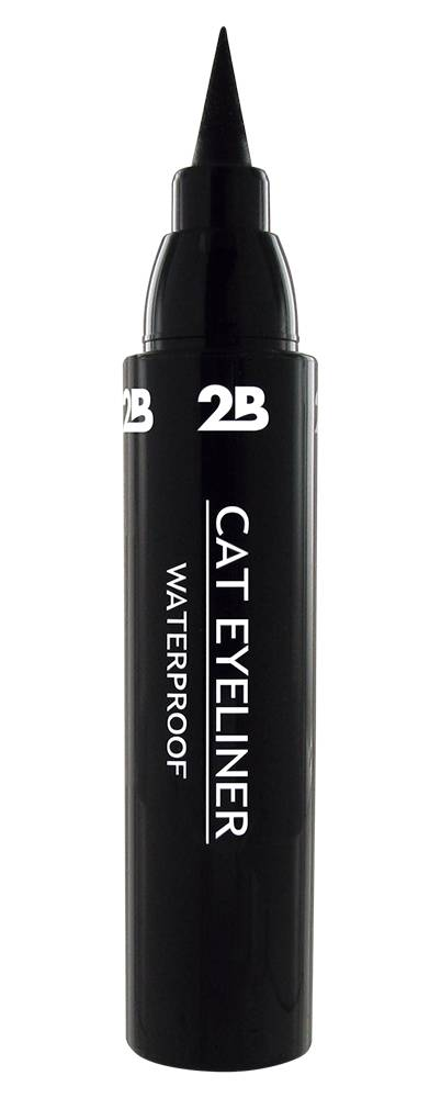 2B Cosmetics CAT EYELINER - ZWART