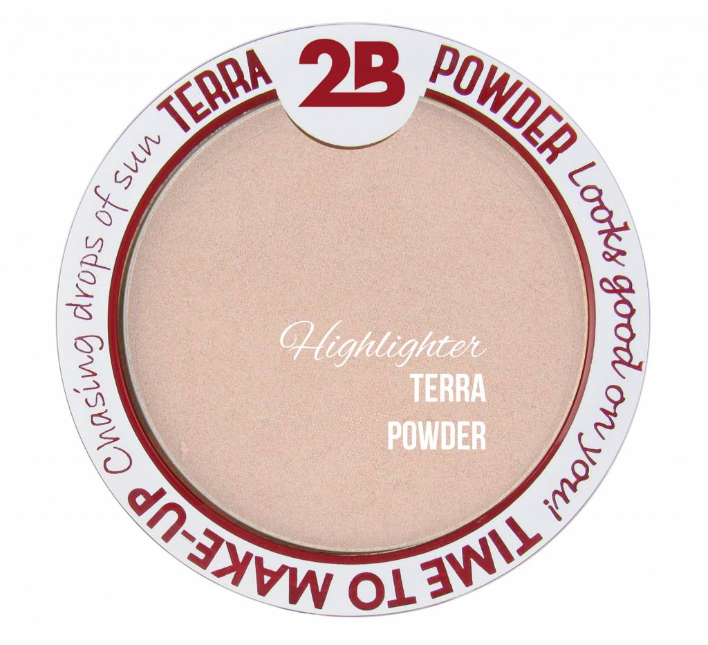 2B Cosmetics Highlighter De Luxe - 01 Pearl Glow