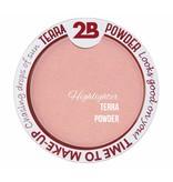 2B Cosmetics  Enlumineur De Luxe Résistant à l'eau - 02 Pink Glow