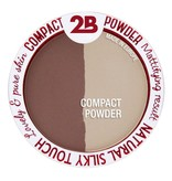 2B Cosmetics Powder Glow Duo Bronzing & Highlighting - 01 Gold