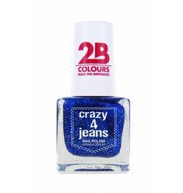 2B Cosmetics Nagellak 719 Crazy 4 Jeans