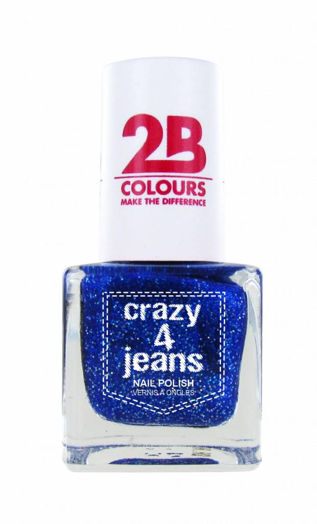 2B Cosmetics Nail Polish 719 Crazy 4 Jeans
