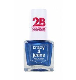 2B Cosmetics Nail Polish 720 Crazy 4 Jeans