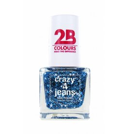 2B Cosmetics Nagellak 721 Crazy 4 Jeans