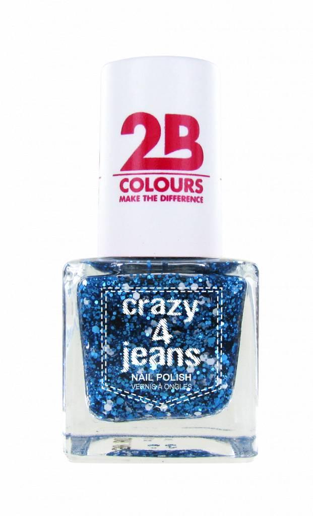 2B Cosmetics Nail Polish 721 Crazy 4 Jeans
