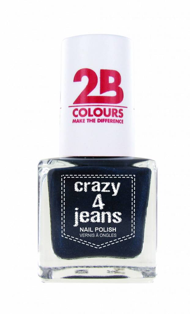 2B Cosmetics Nail Polish 723 Crazy 4 Jeans
