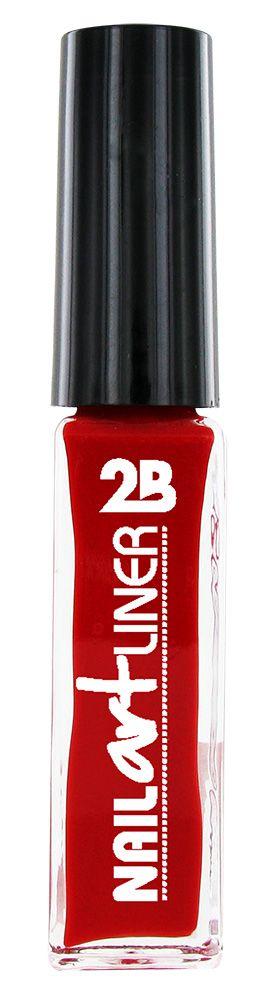 2B Cosmetics Nail Art Liner 10 Red