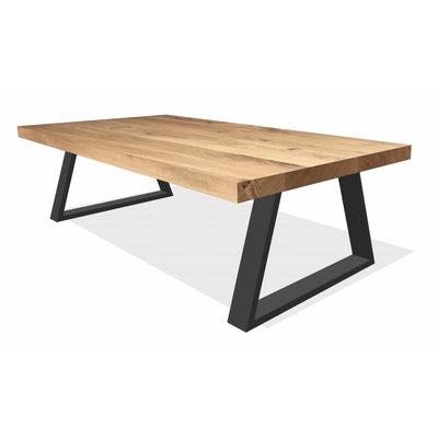 'Helsinki' rechthoekige salontafel trapezium 7/2