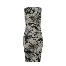 Name It Schwarz-weißes Kleid