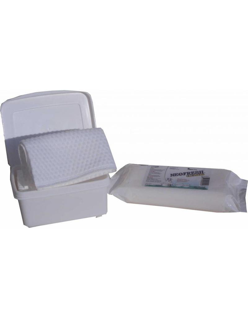 Neofresh vacht verfrissende washandjes 12x10 st